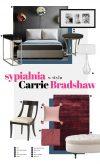 Sypialnia w stylu Carrie Bradshaw