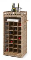 Ratanowa półka na wino, Miloo Home
